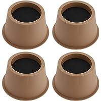 BSTKEY Set van 4 stuks 5cm Bed Risers Stoel Risers Bureau Risers Tafel Risers Sofa Riser Circulaire Meubelrisers Liften…