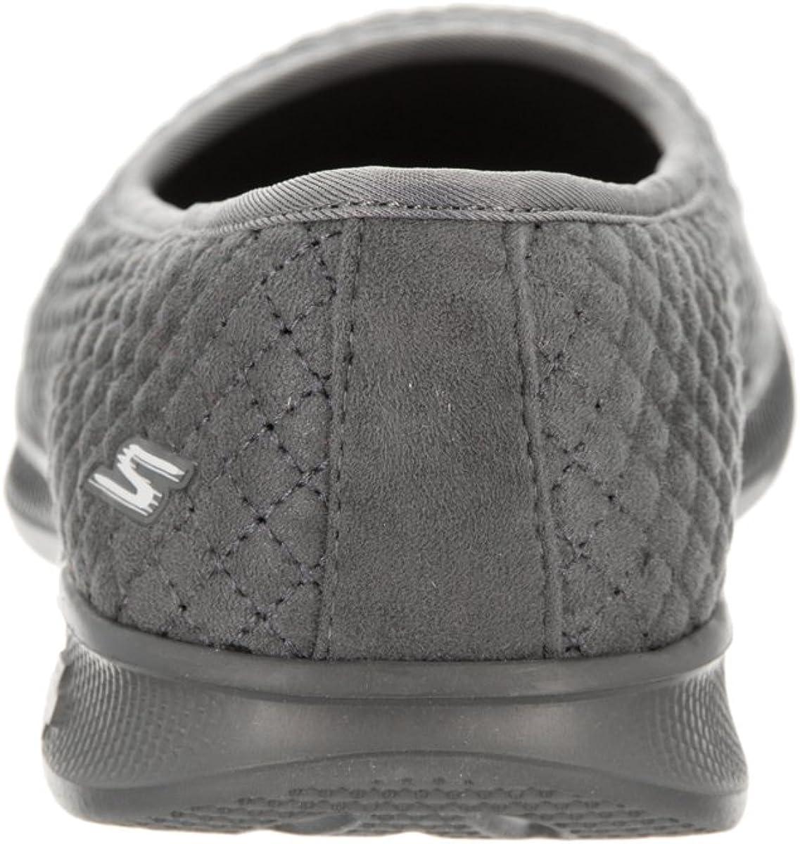 New Womens Skechers Go Step Lite Adored Shoe Style 14742 Black 81E pr