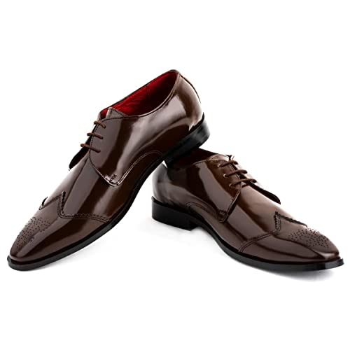 Midnight Leather Shoes Men Leather Shoes Handmade Vintage Dress Leather Shoes