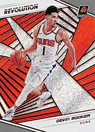 release date f2726 29d45 Amazon.com: 2018-19 Revolution Basketball #75 Devin Booker ...