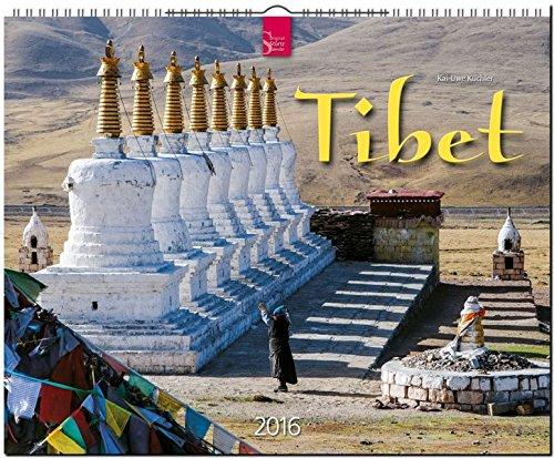 Tibet 2016: Original Stürtz-Kalender - Großformat-Kalender 60 x 48 cm [Spiralbindung]