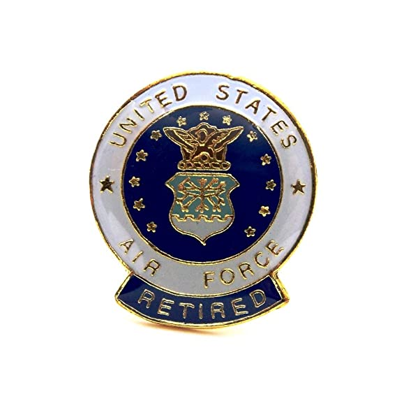 Amazon us air force insignia seal retired flags lapel hat pin us air force insignia seal retired flags lapel hat pin ppm050 publicscrutiny Choice Image