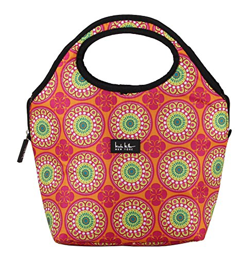 nicole-miller-of-new-york-13-insulated-lunch-tote-orange-kaleidoscope