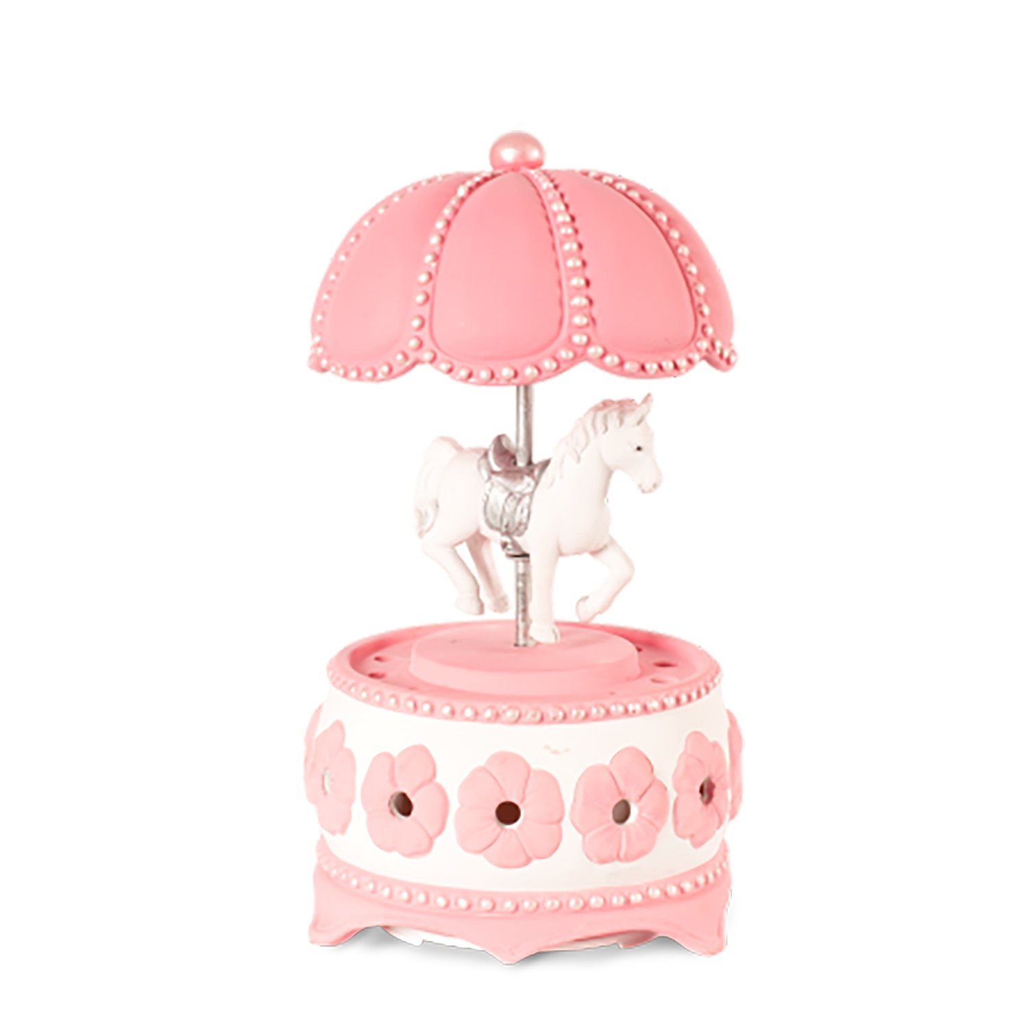 Carousel AromaBreeze Fragrance Diffuser - Replaces Electric Air Fresheners as the Best Home Fragrance Products - Perfect Addition to Any Childrens Room Decor - Doubles as Night LightsCLEARANCE ITEM