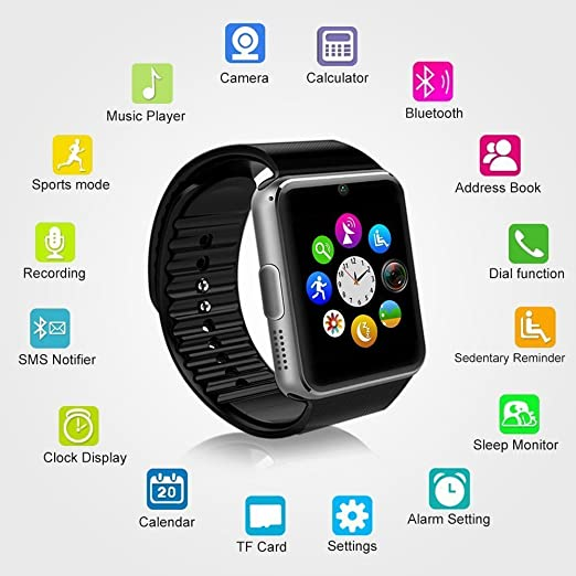 MallTEK Smartwatch Bluetooth Smart Watch: Amazon.es: Electrónica