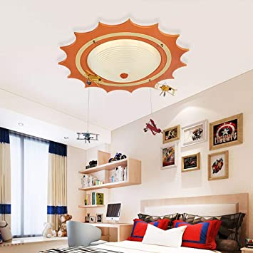 Lámparas Infantiles Lámpara Infantil Lámpara Colgante Led para Niño, Niña Lámpara de Techo en el Dormitorio - Nave ...