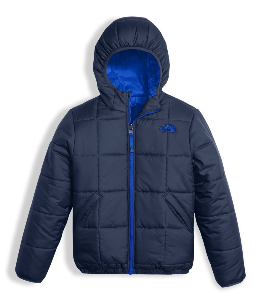 The North Face Boys Reversible Perrito Jacket - Cosmic Blue - XXS by The North Face