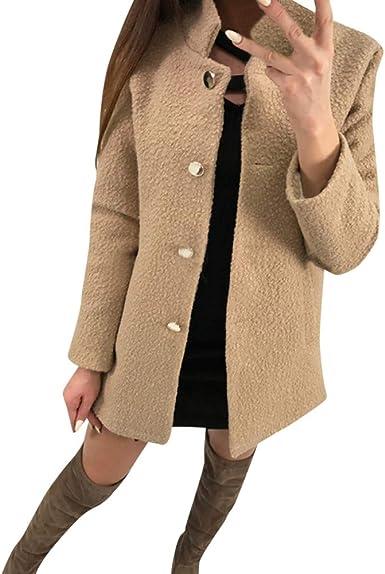 ASHOP Ropa Mujer, Chaquetas de Mujer para Invierno suéter Abrigo ...