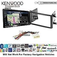 Volunteer Audio Kenwood DNX574S Double Din Radio Install Kit with GPS Navigation Apple CarPlay Android Auto Fits 2009-2013 Subaru Forester, 2008-2014 Subaru Impreza