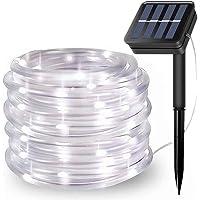 100LED Guirnaldas Luminosas Exterior,EHOFUN Solar Alimentado 39FT Impermeable