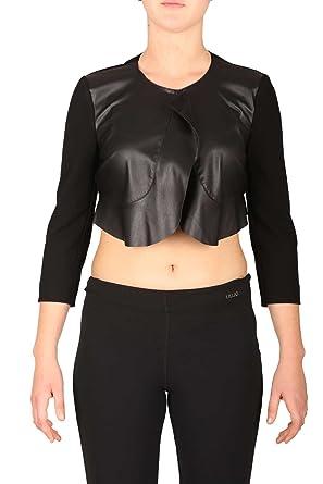 J1714 Shrug FALL Women's LIU WINTER JO 22222 jacket 2H Black I67022 w5gqqzPxX