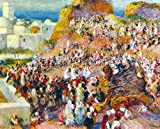 THE MOSQUE ARABIAN FEST BY RENOIR ARTIST PAINTING OIL CANVAS REPRO WALL ART DECO 20x24inch MUSEUM QUALITY