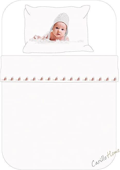 Completo sábanas Baby bebé impresión digital cuna cuna algodón cuffietta: Amazon.es: Deportes y aire libre