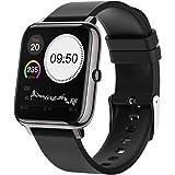 Smartwatch Pulsera Inteligente, MTQ Reloj Inteligente Deportivo, Reloj Deportivo Pantalla Táctil Impermeable IP67 monitores d
