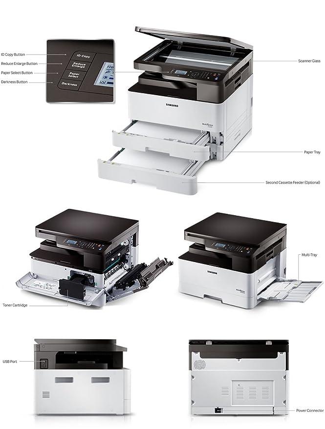 Samsung SL-K2200 Monochrome Multi Function Laser Printer Laser Printers at amazon
