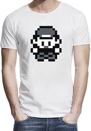 amazon pokemon trainer メンズ生のエッジtシャツ small オリジナル