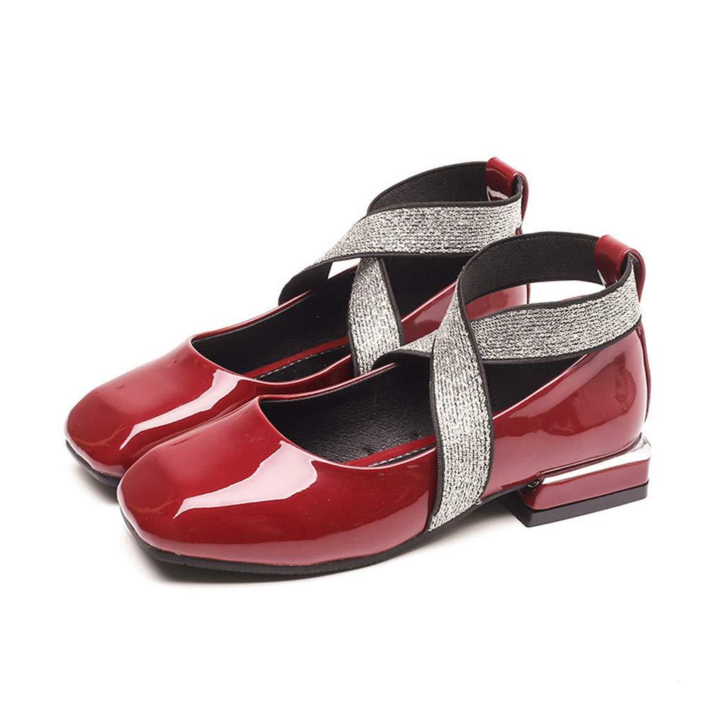 MODEOK Girls Kids Mary Jane Casual Slip On Ballerina Flat Shoes Toddler//Little Kid//Big Kid