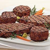 Kansas City Steaks 2 (6oz.) Filet Mignon and 2 (10oz.) KC Strip Steaks
