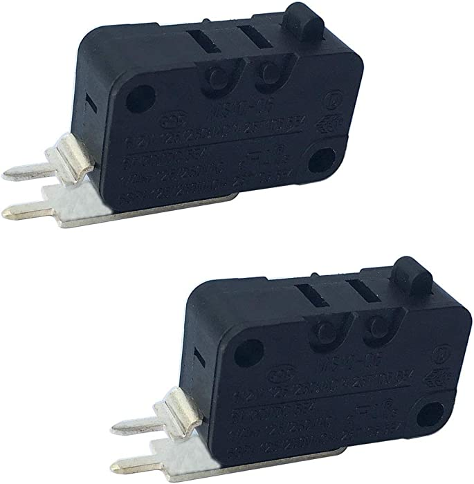 LONYE W10195039 Dishwasher Float Switch for Whirlpool KitchenAid Kenmore Maytag Dishwasher WPW10195039 MS10-06 PS11750031(Pack of 2)