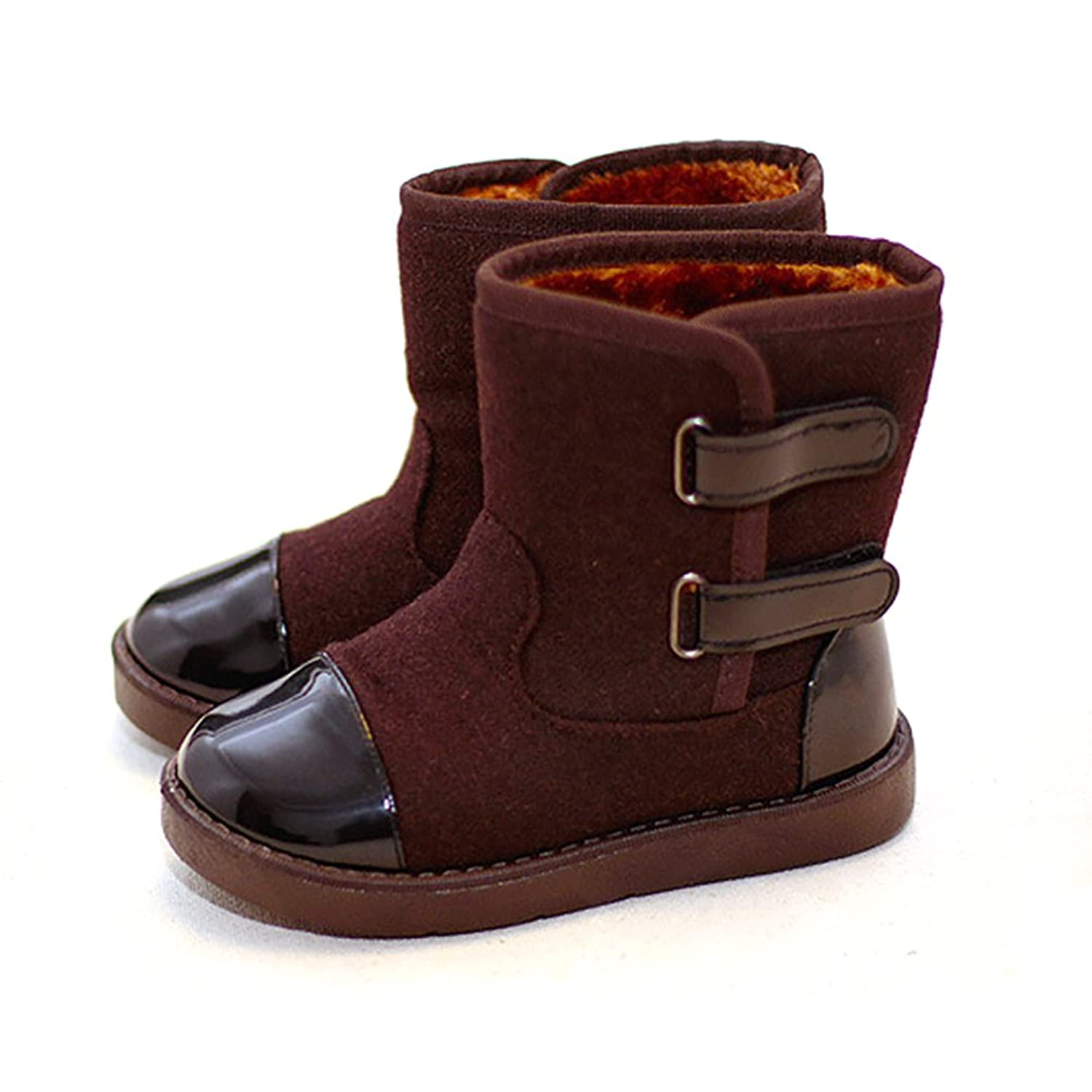 D.LIN Boys & Girls Alaska Waterproof Snow Boots (Toddler Little Kid):  Amazon.ca: Shoes & Handbags