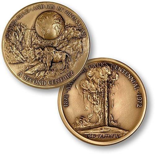 Medallic Art - Yellowstone National Park - Keystone Coin