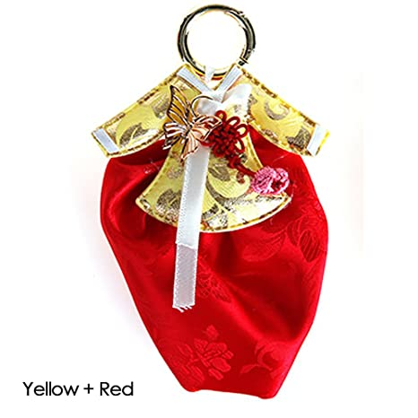 Amazon.com: Hanbok llavero anillo hecho a mano titular de la ...