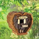 New-Wood-Heart-Shaped-Love-Shack-Birdhouse