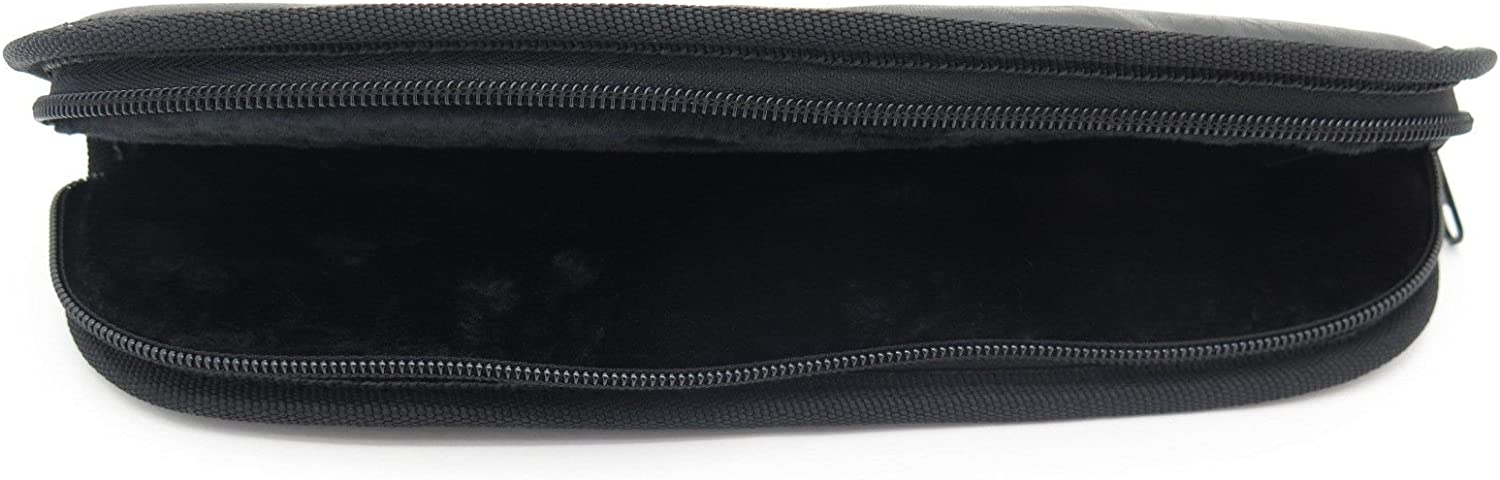 11 Inch Padded Zipper Zip up Fixed Blade Hunting Knife Storage Case Pouch Sheath