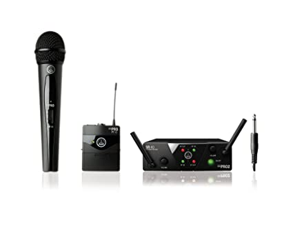 Akg - Wms-40 mini dual vocal instrumental set inalambrico micro-petaca