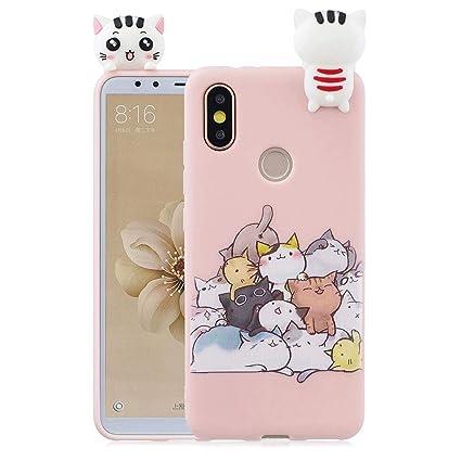 0c5e5150e16 CoqueCase Funda iPhone 6s Plus Silicona 3D Suave Flexible Ultrafina Goma  Carcasa iPhone 6 Plus Ultra