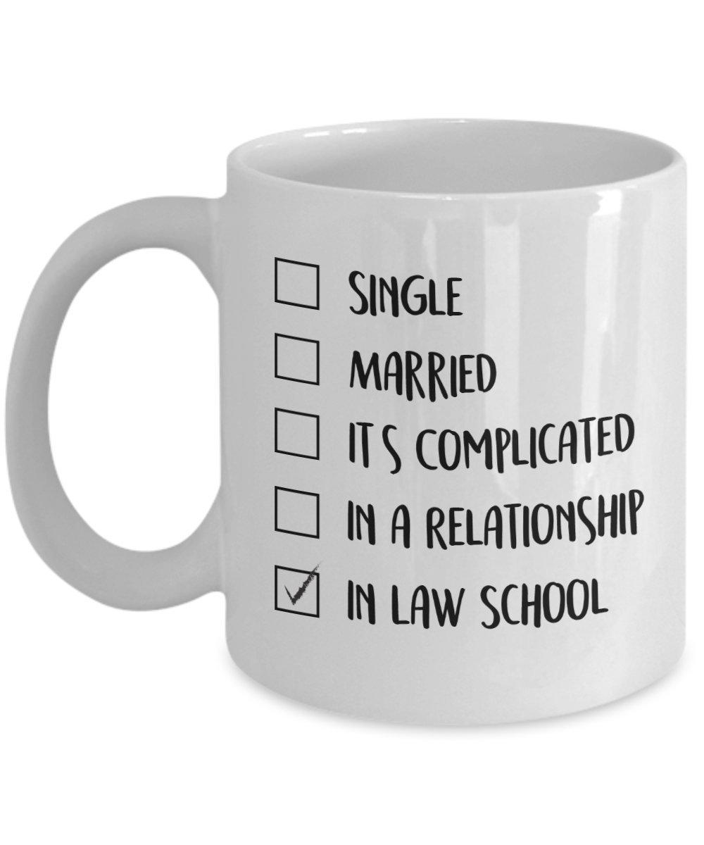 55675b27d90 Amazon.com  In Law School - Student Coffee Mug