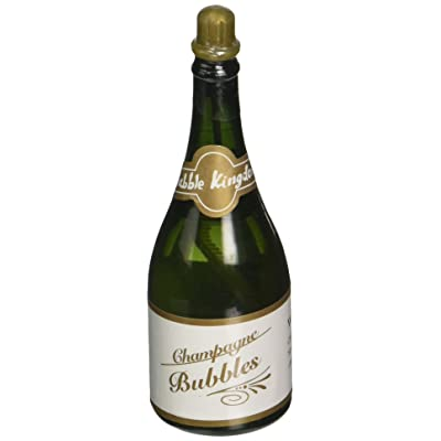 Rhode Island Novelty Champagne Bottle Shaped Blowing Bubbles 2 Dozen: Toys & Games