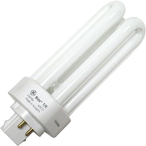 4-Pin GX24q-3 Base 2700K T4 Shape F26TBX//827//A//ECO 26-Watt Energy Star Ecolux Triple Tube Compact Fluorescent Light Bulb 82 CRI 25-Pack 1710 Lumens GE 97614