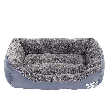 Wuwenw Cama para Perros Pequeños Medianos Grandes Perros 2XL Tamaño Pet Dog House Caliente Algodón Puppy