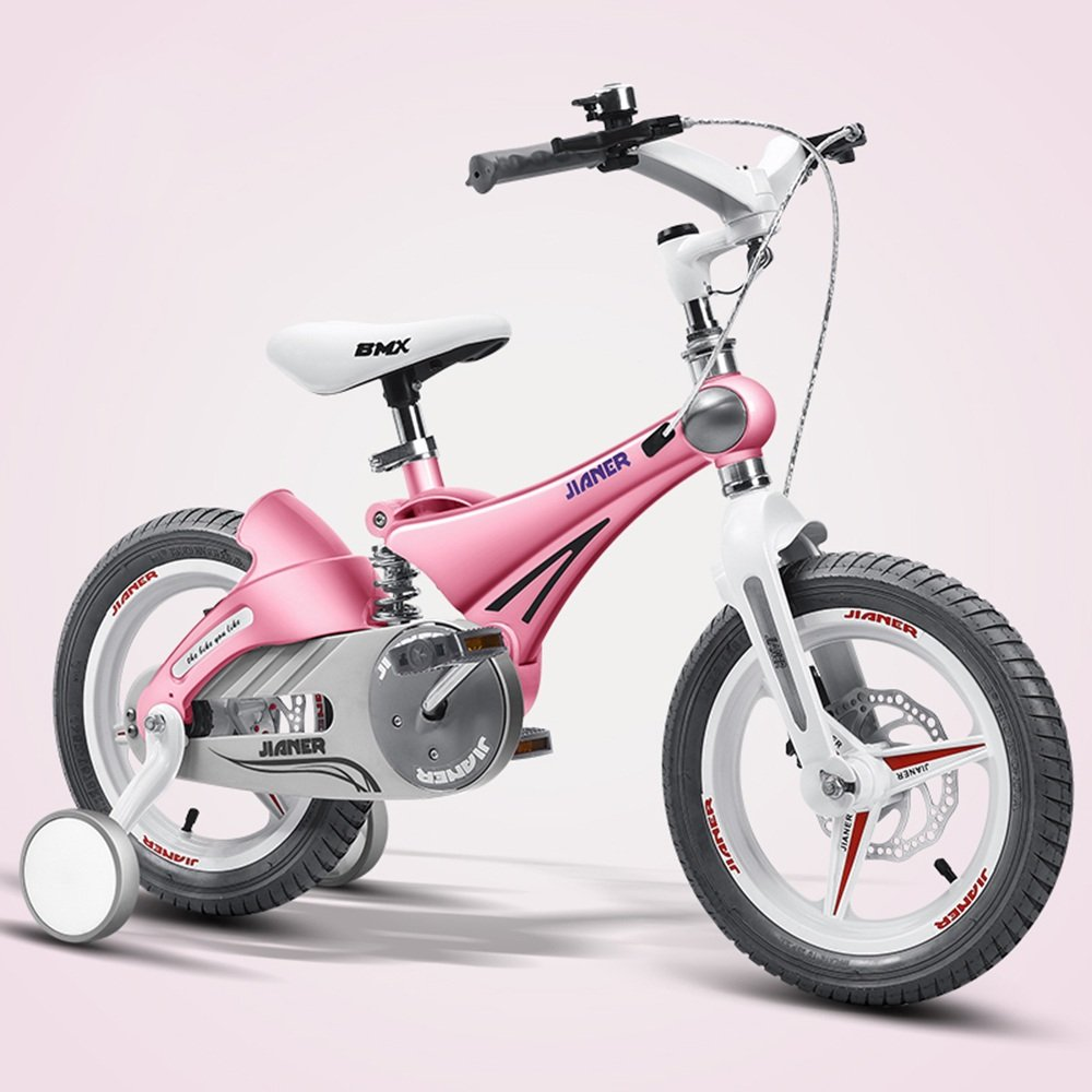 HAIZHEN マウンテンバイク 子供用バイク、ベビーカー、マウンテンバイク、自転車、子供用自転車、自転車(サイズ:87 * 50 * 38cm) 新生児 B07C6C3WW1 12Inch|ピンク ぴんく ピンク ぴんく 12Inch