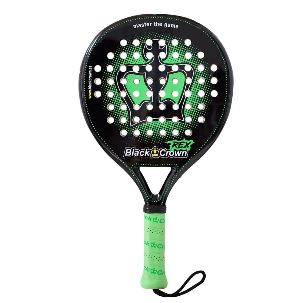 Amazon.com : BLACK CROWN REX 2018 - - (Padel - Pop Tennis - Platform Tennis - Paddle Tennis) : Sports & Outdoors
