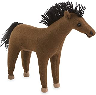 product image for Magic Cabin Felt Pony, Brown