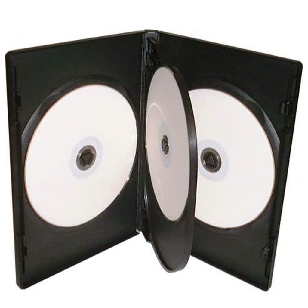 Four Square Media - 50 cajas de almacenamiento para CD/DVD ...