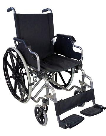 Silla de ruedas plegable | autopropulsable | reposabrazos abatibles | negro | Giralda | Mobiclinic |