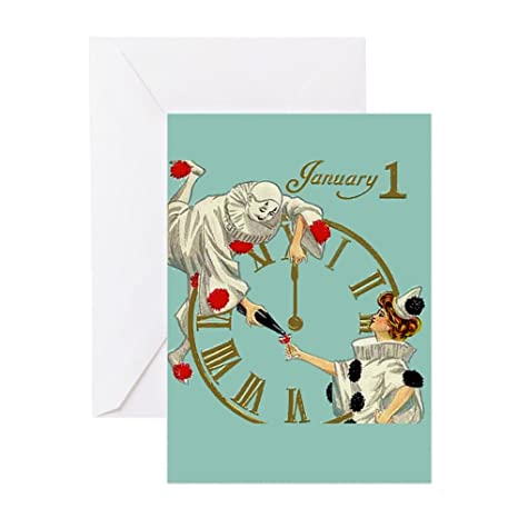 cafepress happy new year greeting card note card birthday card blank