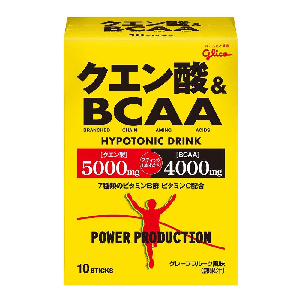 グリコ(glico) クエン酸&BCAA 10袋×6箱 70782 B06ZXR3KGH