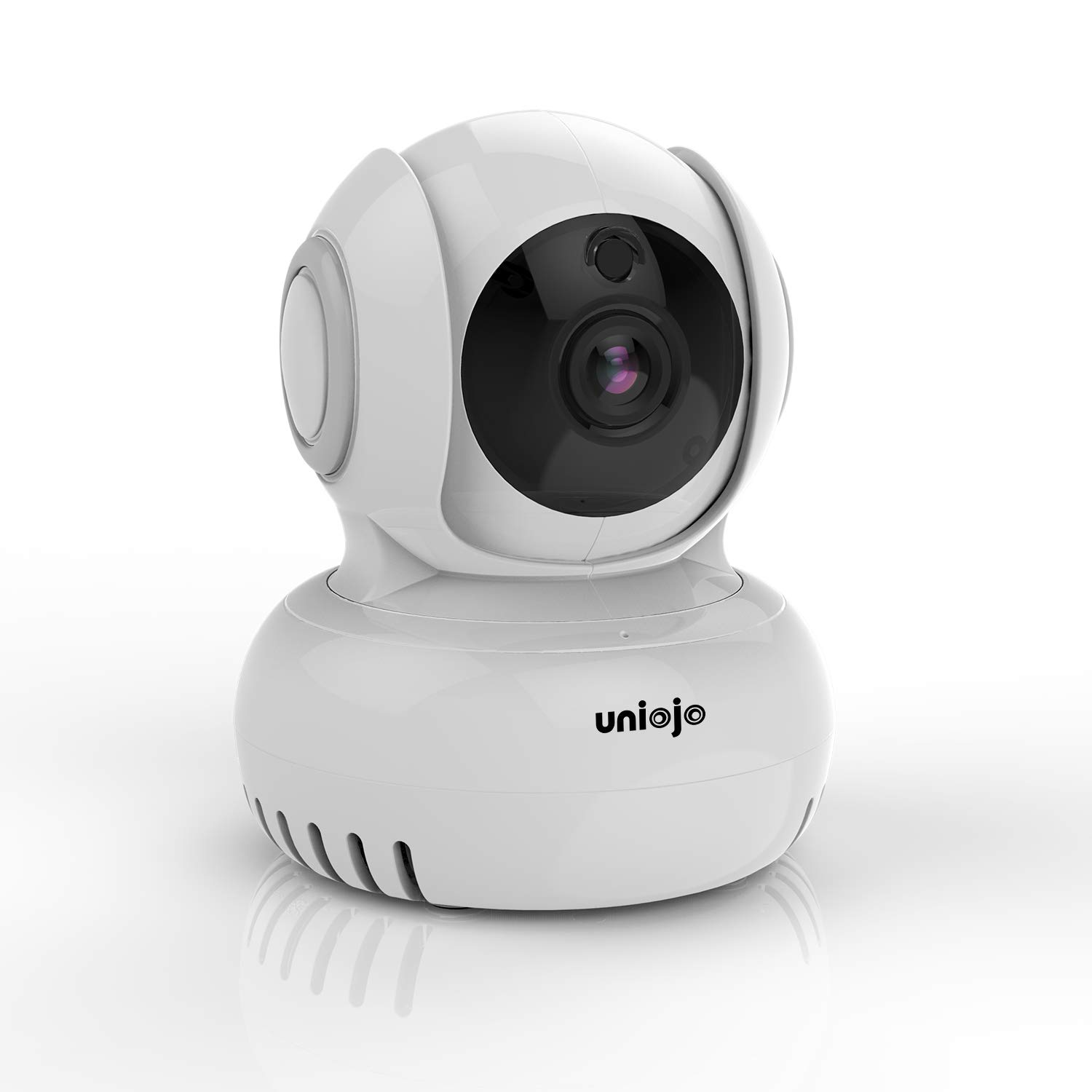 CDM product UNIOJO 1080P FHD WiFi IP Security Camera Wireless Indoor Camera Compatible with Alexa, Cloud Service Available, Motion Detection, 2-Way Audio Surveillance Monitor for Baby/Elder/Pet big image