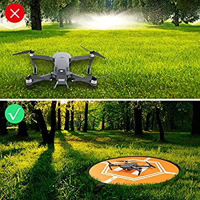 UZOPI Universal Drone Landing Pad Fast-fold RC Quadcopter Helicopter Apron Helipad for DJI Mavic Pro Phantom 2 3 4 inspire 1 Parrot Bebop Syma Yuneec Q500 Typhoon