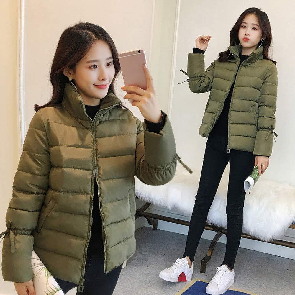 iLOOSKR Fashion Womens Winter Warm Jacket Thick Warm Slim Jacket Coat