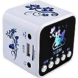 Sardine Pocket Outdoor Sport Speakers,Portable Mini Speaker USB Flash Drive and TF Card Music Mp3 Player FM Radio