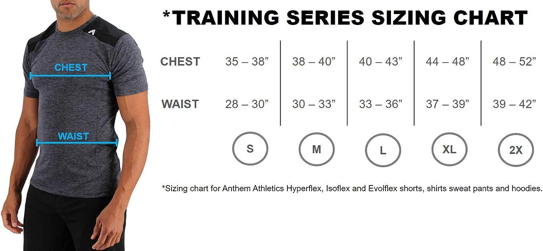"Anthem Athletics Hyperflex Men's 5"" Cross-Training Workout Gym Shorts: Clothing"