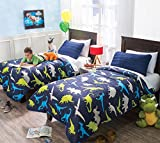 New ''Dinosaurs'' Lightweight Reversible Comforters Full/Queen