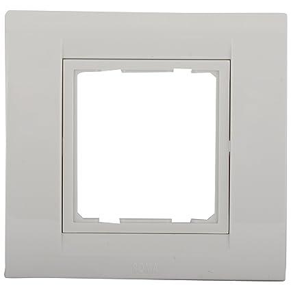 Anchor Roma 2 Module Tresa Plate, White