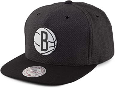 Mitchell & Ness Gorra Snapback Woven Reflective Brooklyn Nets ...