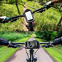 St. Lun Waterproof Bicycle Bag Mobile Phone Mount Bag For 6.0 inch iPhone Samsung Phone Mount MTB Cycling Handlebar Bags